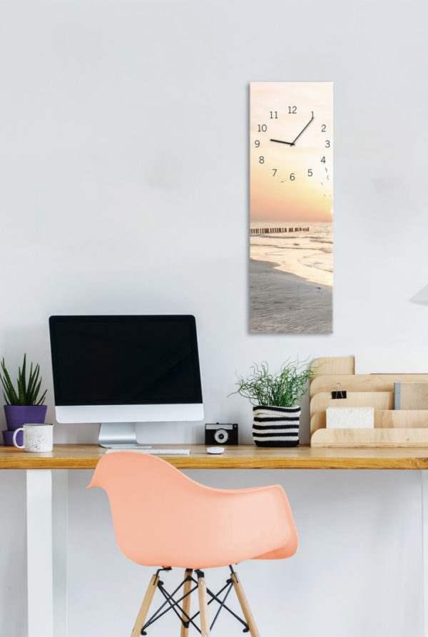 Glasuhr Beach im Arbeitszimmer