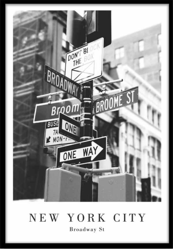 Rahmenbild Broadway Street