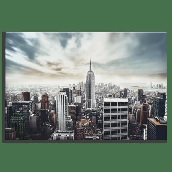 Glasbild Loft