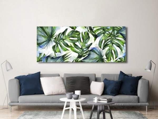 Leinwandbild Tropical im Wohnzimmer