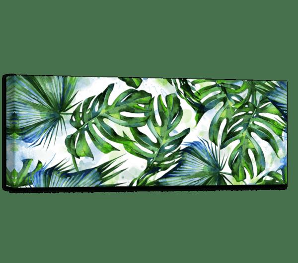 Leinwandbild Tropical Ansicht schräg