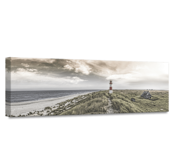 Wandbild Beacon View 1 | Leinwand | 45 x 140 cm Ansicht schräg