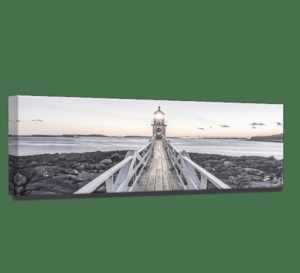 Wandbild Beacon View 2 | Leinwand | 45 x 140 cm Ansicht schräg