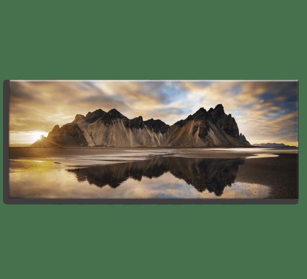 Glasbild Iceland – Panorama