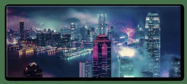 Glasbild Victoria – Panorama