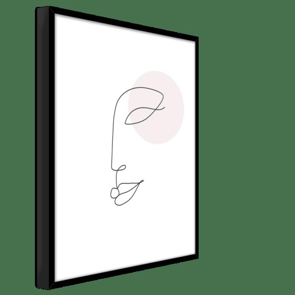 Rahmenbild Face Ansicht schräg