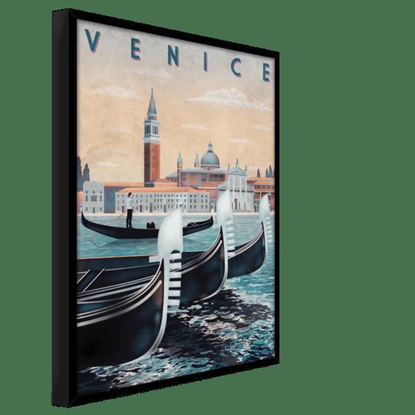Rahmenbild Venice Ansicht schräg