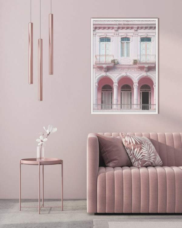 Rahmenbild Havana im Wohnzimmer