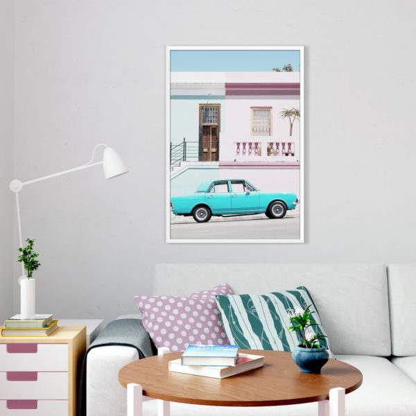 Rahmenbild Cortina im Wohnzimmer