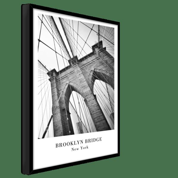 Rahmenbild New York Ansicht schräg