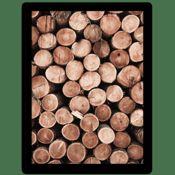 Rahmenbild Wood