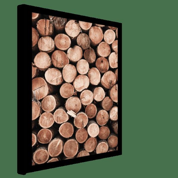 Rahmenbild Wood Ansicht schräg