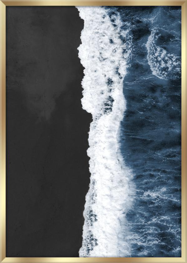 Rahmenbild Black Beach