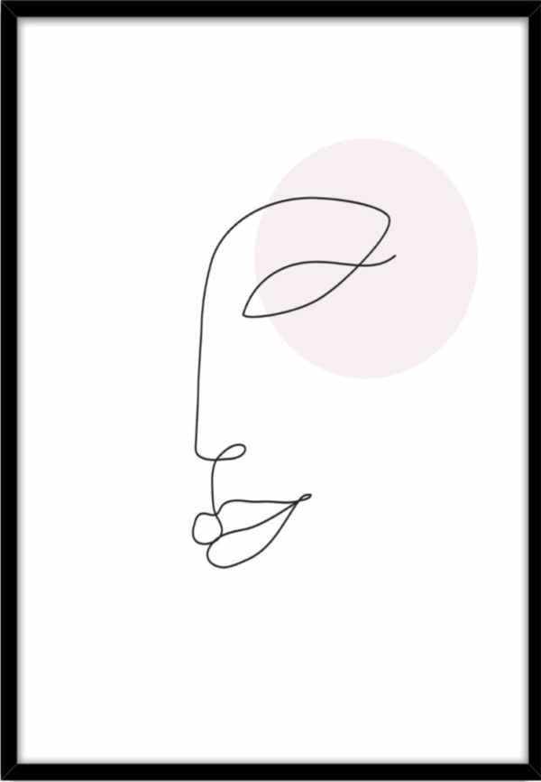 Rahmenbild Face