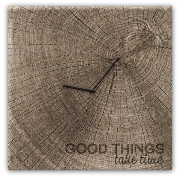 Glasuhr Good Times