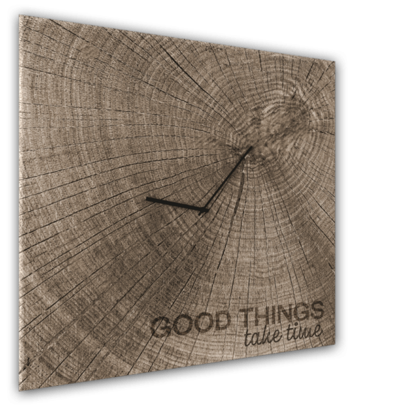 Glasuhr Good Times Ansicht schräg