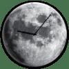 Glasuhr Moon