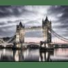 Glasbild Tower Bridge London
