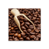 Glasbild Coffee