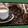 Glasbild Coffee Ansicht schräg