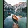 Glasbild See in Tirol