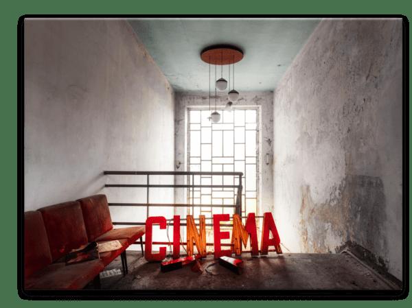 Glasbild Cinema