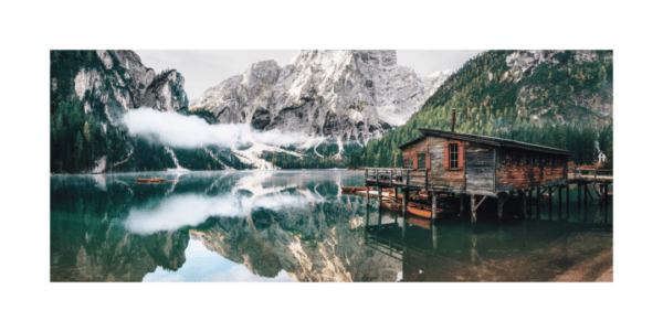 Glasbild Tirol – Panorama