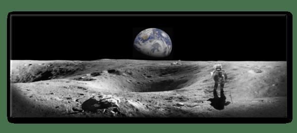 Glasbild Earth