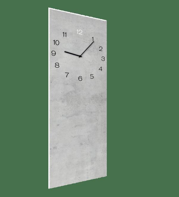 Glasuhr Concrete Ansicht schräg