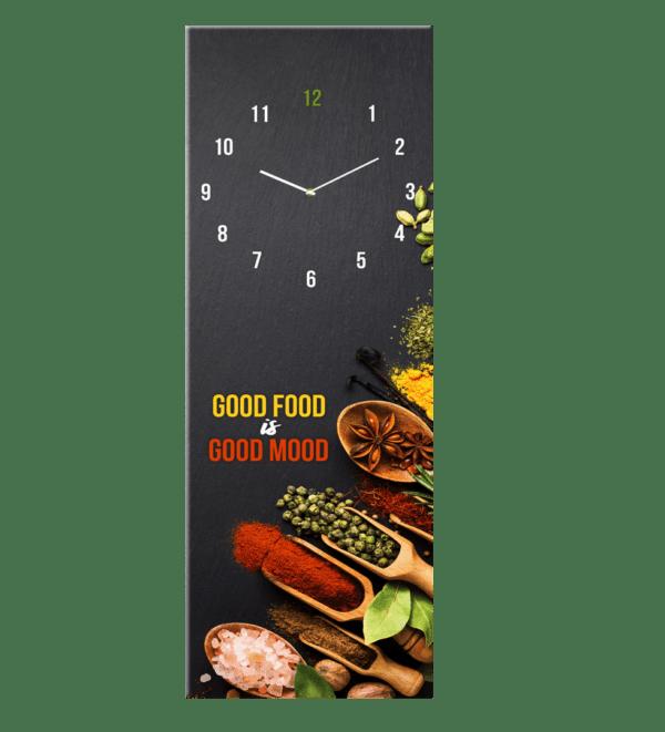 Glasuhr Good Food