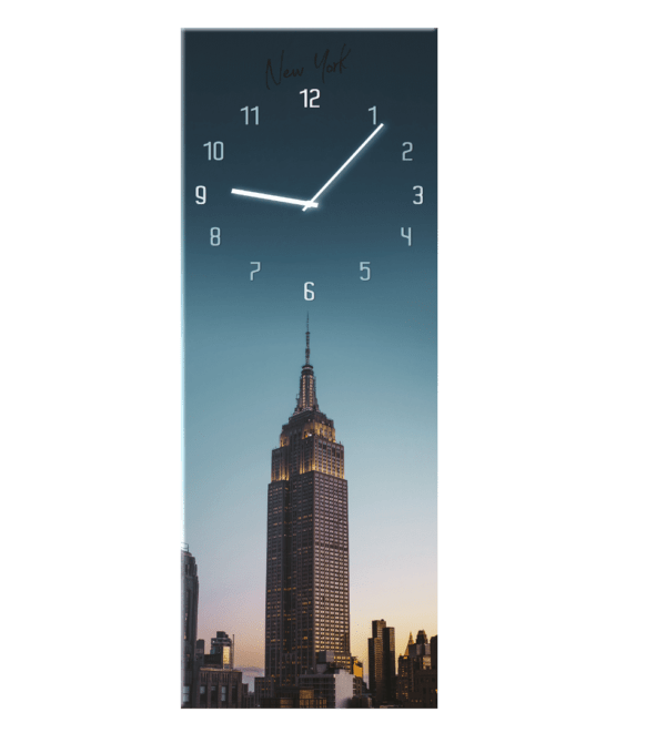 Glasuhr Manhattan