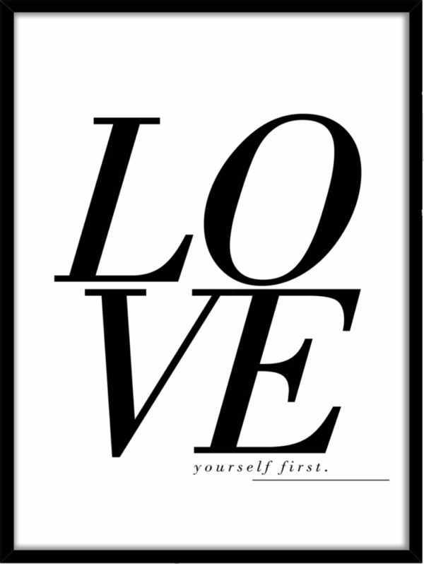 Rahmenbild Love