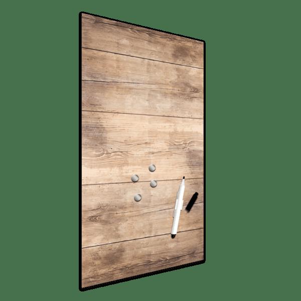 Memoboard Wood Ansicht schräg