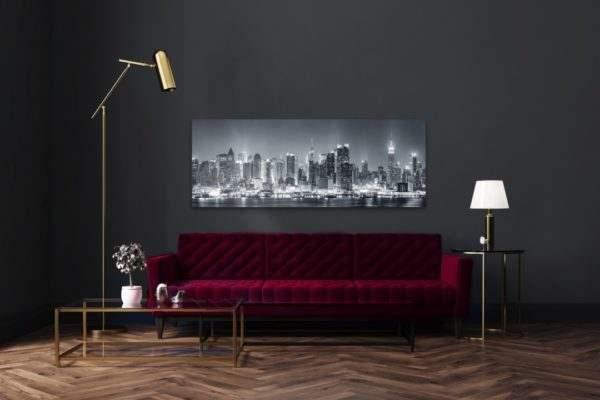 Leinwandbild Manhattan – Panorama im Wohnzimmer