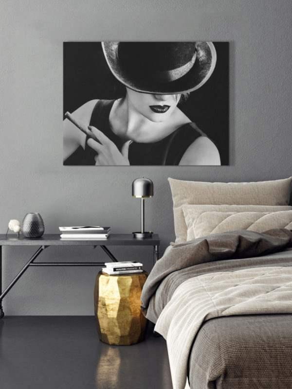 Leinwandbild Cigaro im Schlafzimmer