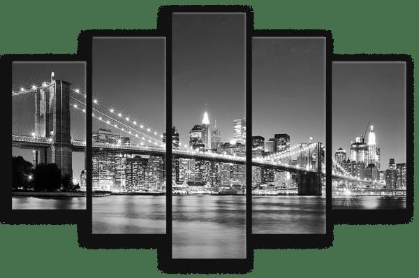 Leinwandbild Skyline – Mehrteiler