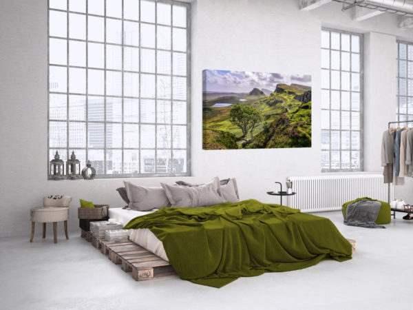 Leinwandbild Neuseeland – Panorama im Schlafzimmer