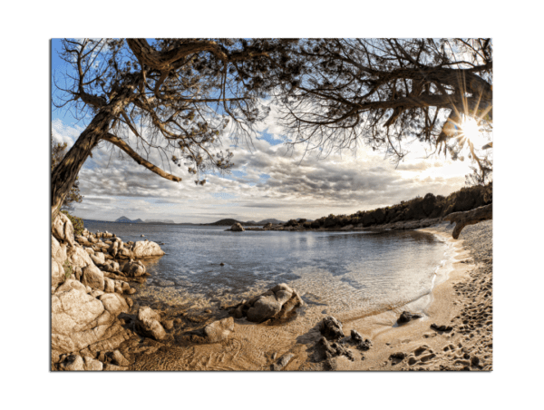 Leinwandbild Sardinien – Panorama