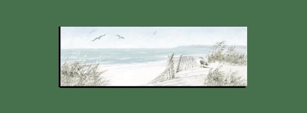 Leinwandbild Dünen – Panorama