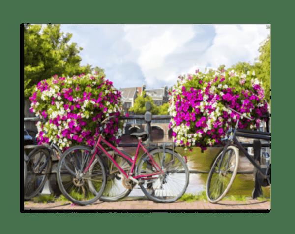 Leinwandbild Bikes