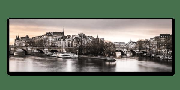 Leinwandbild Paris – Panorama