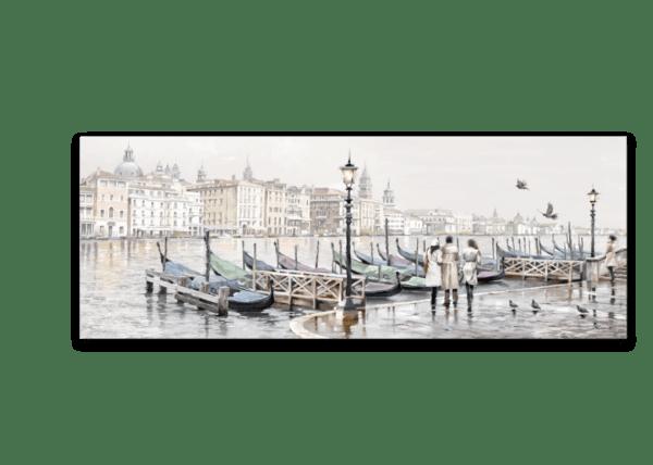 Leinwandbild Venedig – Wasserfarben
