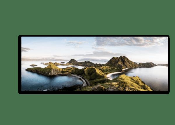 Leinwandbild Komodo – Panorama