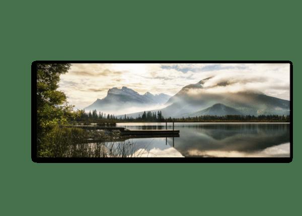 Leinwandbild Lake -Panorama