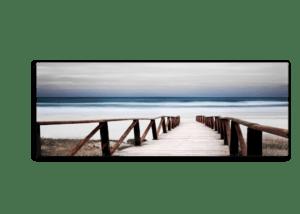 Leinwandbild Alba – Panorama