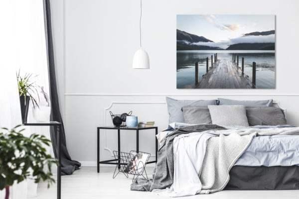 Leinwandbild Nelson im Schlafzimmer