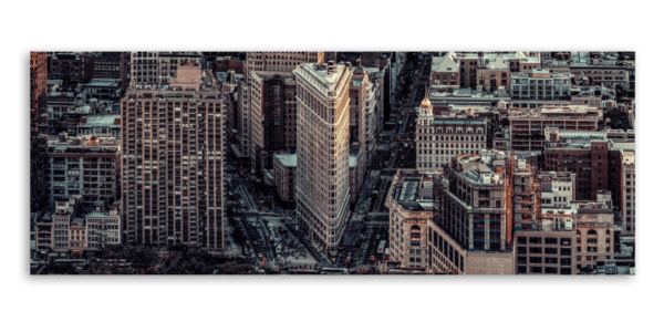 Leinwandbild City – Panorama