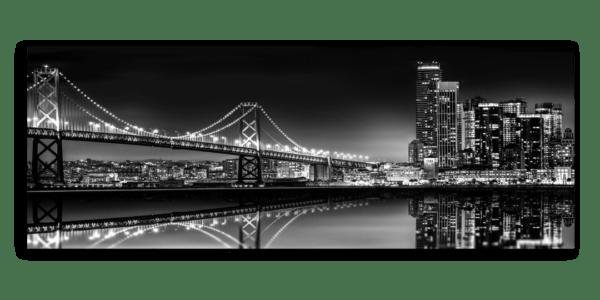 Leinwandbild Bridge – Panorama