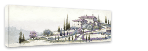 Leinwandbild Tuscany – Panorama Ansicht schräg