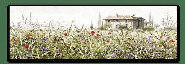 Leinwandbild Grasse – Panorama